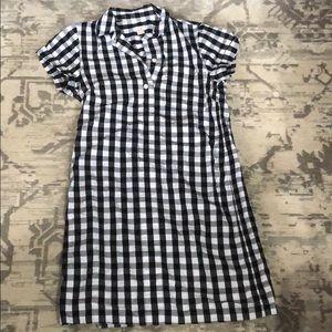 Jcrew gingham dress size xs